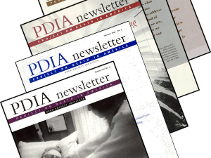 PDIA newsletters