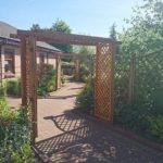 St Margarets of Scotland Hospice gardens in June 2016