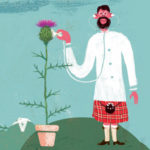 detail from the Scottish Atlas of Palliative Care