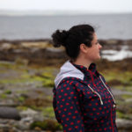 Kate Jackson, editor of ehospice International, on Shapinsay, Orkney