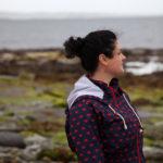 Kate Jackson, editor of ehospice International, on Shapinsay, Orkney