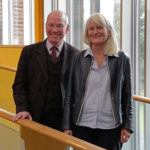 Professor David Clark and Professor Helle Tim (L-R)