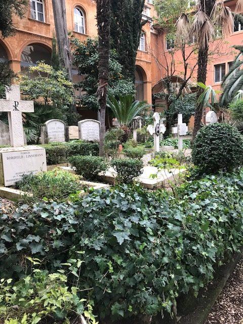 Teuton cemetery The Vatican